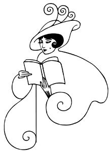 ladyreadingbook