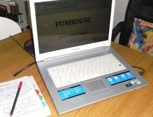 escribiendo Funhouse