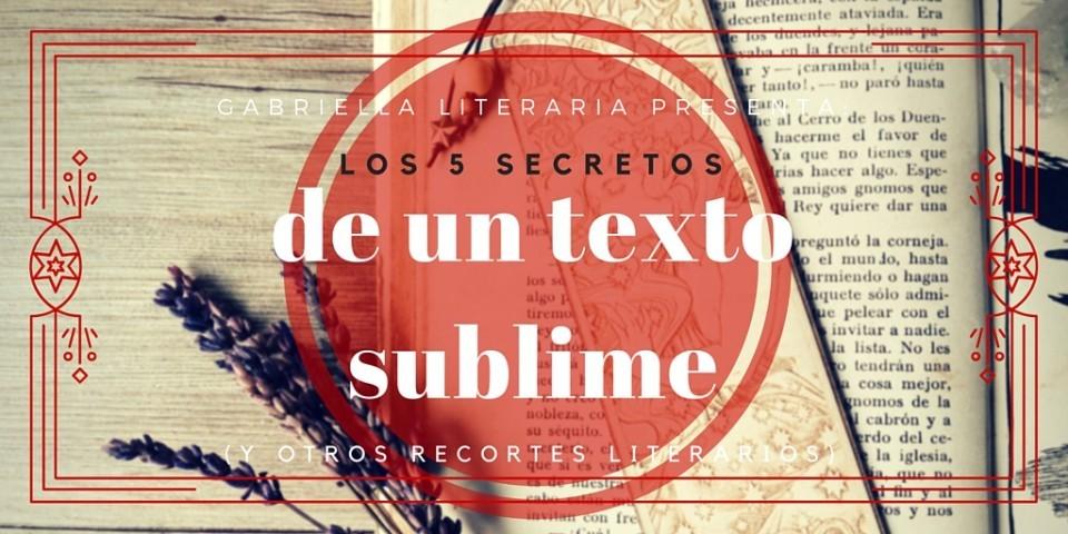 texto sublime