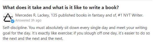cómo escribir todos los días